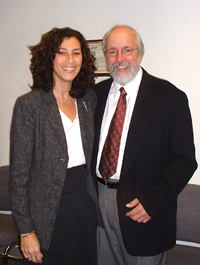 Dr. Caren Sax and Dr. Fred McFarlane