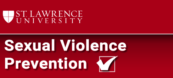 Sexual Violence Prevention Program. Click to restart the program